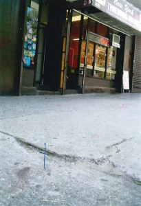 Defective sidewalk accident lawyers in New York